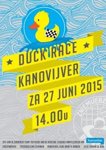 poster duck race digitaal